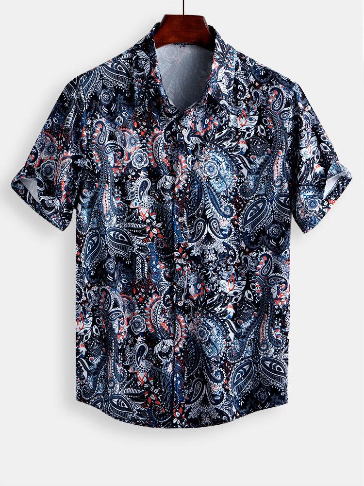 mens floral t shirts summer sale 2020