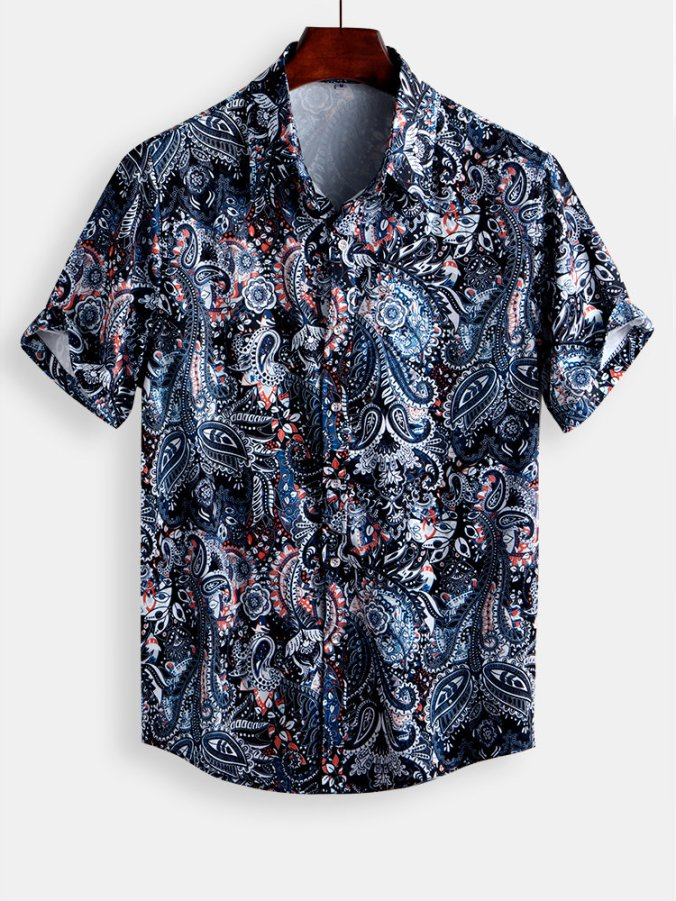 mens floral t shirts summer sale 2020